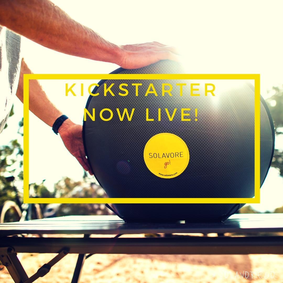Kickstarter Now Live!